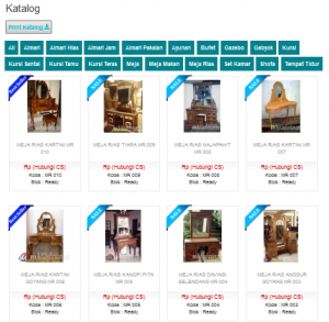 jepara furniture katalog