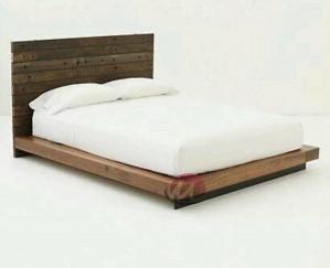 Tempat Tidur Agats mjf BR004. Dipan