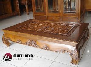 Coffe Table CT019 Meja Ukiran Jati