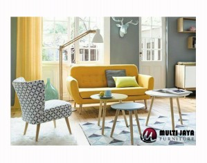 Set Sofa Tamu Retro SF166