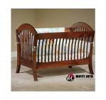 Tempat Tidur Bayi Kayu Jati TT094