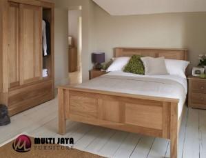 Tempat Tidur Jati Minimalis TT091