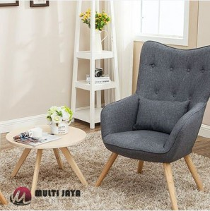 Kursi Sofa Retro Minimalis Ch151 Multi Jaya Furniture Jepara
