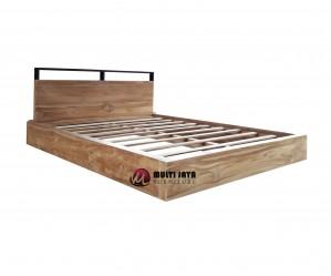 Dipan Tempat Tidur Jati Minimalis TT102