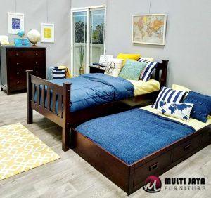 Tempat Tidur Jati TT089